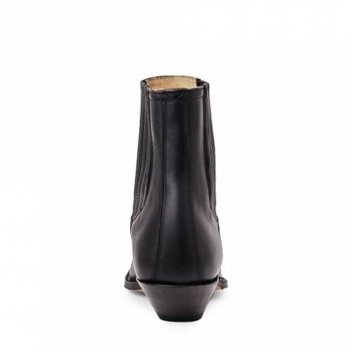 Botine Cowboy Unisex SENDRA BOOTS 1692 · CUERVO Pull Oil Negro · Negru