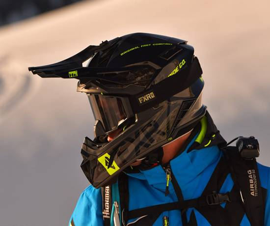 Cască Snowmobil FXR Racing
