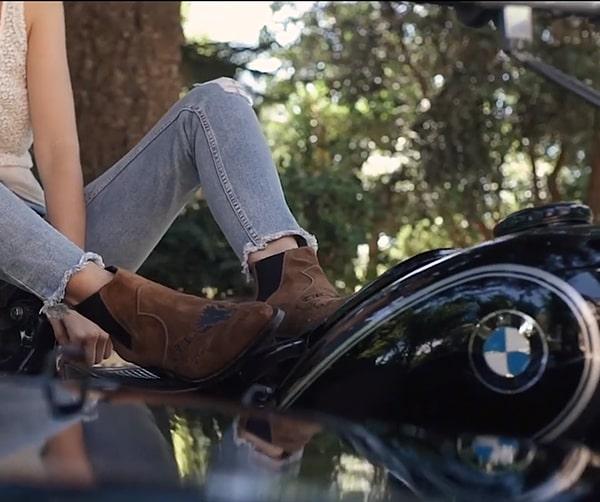 Cizme Moto & Cowboy Sendra Boots